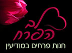 לב הפרח - פרחים במודיעין