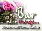 bar flowers and home design