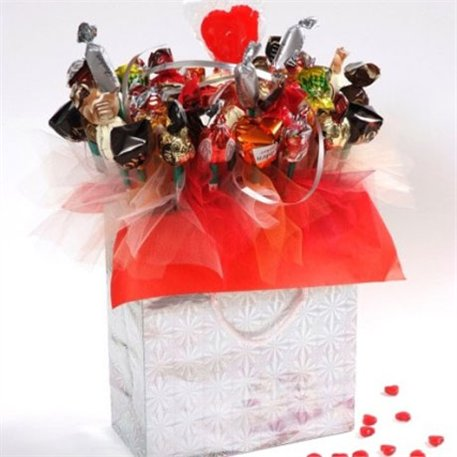 """מק""""ט 001 פניני שוקולד (אדום)"""