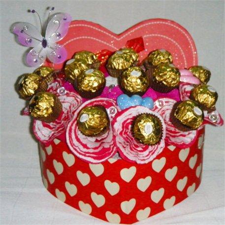 3. ורדים במילוי שוקולד